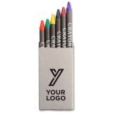 Cadeau d'affaire Crayons de cire Colorline
