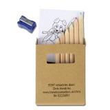 Cadeau d'affaire Crayons de couleur Draw