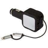 Cadeau d'affaire Chargeur voiture USB Plug-in