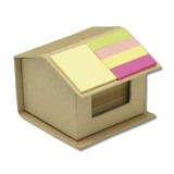 Cadeau d'affaire Mini bloc-notes Ecohome