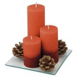 Cadeau d'affaire Set bougies Trio-Deco