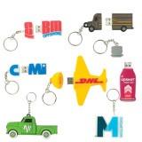 Cadeau d'affaire Clé USB PVC Promo 2D