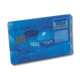Cadeau d'affaire Porte-cartes de crédit Frosty
