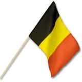 Cadeau d'affaire Drapeau à main Belgium