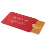 Cadeau d'affaire Porte-cartes de crédit Seguri (RFID)