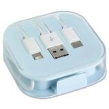 Cadeau d'affaire Câble de recharge USB stand