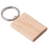 Cadeau d'affaire Porte-clés Madera Recto