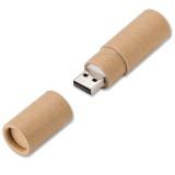 Cadeau d'affaire Clé USB Round Recycled Paper (16 GB)