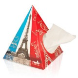Cadeau d'affaire Mouchoirs Pyramide