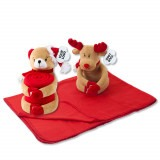 Cadeau d'affaire Plaid polaire Rudolf