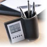 Cadeau d'affaire Pot à crayons / horloge Expert