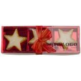 Cadeau d'affaire Set bougies Star