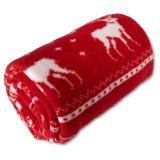 Cadeau d'affaire Plaid polaire Reindeer 180 g/m²