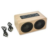 Cadeau d'affaire Enceinte BT Woodsound Duo