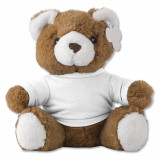 Cadeau d'affaire Peluche avec T-shirt Teddy