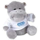 Cadeau d'affaire Peluche avec T-shirt Hippo