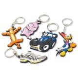 Cadeau d'affaire Porte-clés PVC Custom