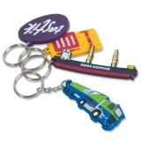 Cadeau d'affaire Porte-clés PVC Promo 45 mm (2D)