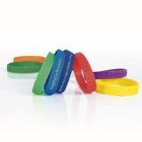 Cadeau d'affaire Bracelet Silicone Embossing