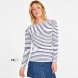 Cadeau d'affaire T-shirt Marine (femme) 150 g/m²