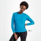 Cadeau d'affaire T-shirt Sporty LSL (femme) 140 g/m²