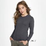 Cadeau d'affaire T-shirt Imperial LSL (femme) 190 g/m²