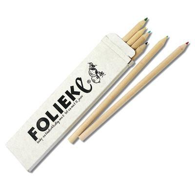 Pochette crayons 6 pièces