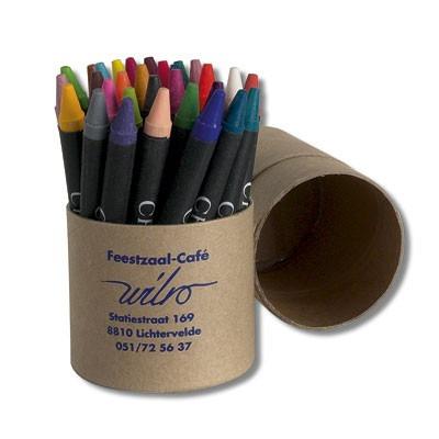 Crayons de cire Tubo