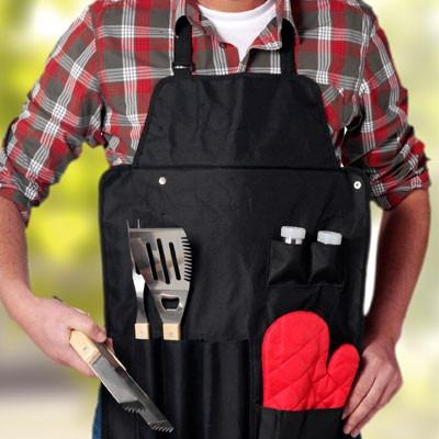 Set barbecue Chef