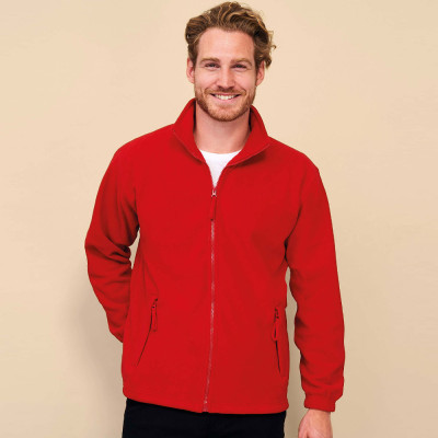 Gilet polaire North (homme) 300 g/m²
