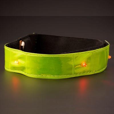 Brassard fluo Reflect-LED