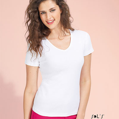 T-shirt Lady V 220 g/m²