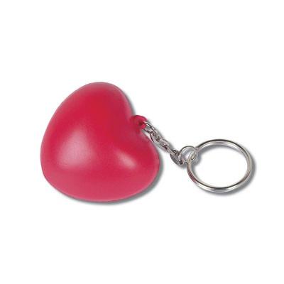Porte-clés anti-stress Coeur